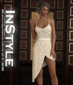 InStyle- JMR dForce Asymmetrical Outfit for G8F