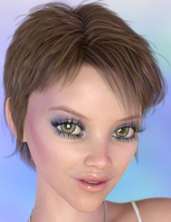 Itsy Hair for Genesis 8 and Genesis 3 Female(s)