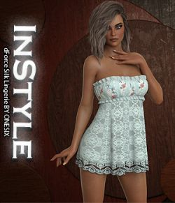 InStyle- dForce Silk Lingerie