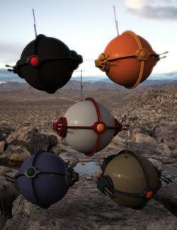 Sci-Fi Patrol Bot