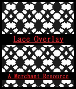 Seamless Lace PNG Overlays
