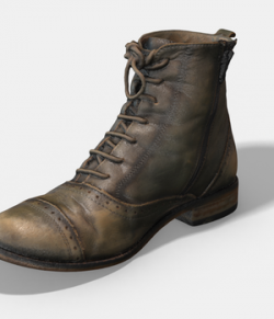 Photoscanned Female Ankle Boots - Extended License