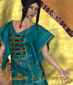 DA-Native American for Lucille Dress by karanta