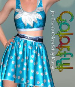 DA-Colorful for Dawns Coleen Set by Karanta