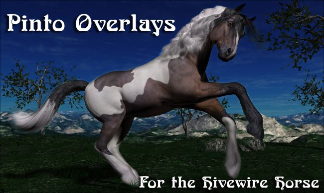 Pinto Overlays for the HiveWire Horse