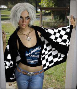 7th Ave: X-Fashion Crochet for Genesis 8 Female(s)