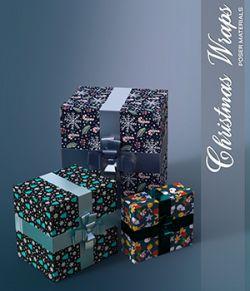 Poser - Christmas Wraps