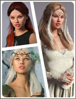 Briareth Hair for Genesis 8 Female(s)