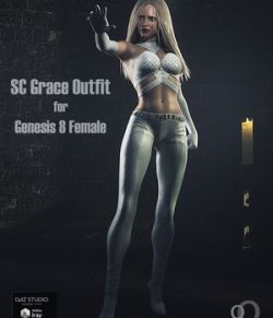 SC Grace Outfit for Genesis 8 Female