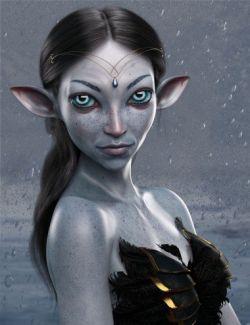 Winter Fae HD for Genesis 8 Female