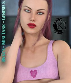 Basics- Mini Tank Top- Genesis 8