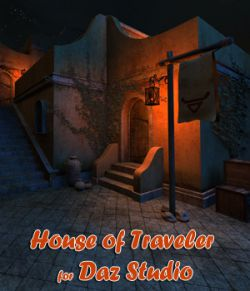 House of Traveler for Daz Studio