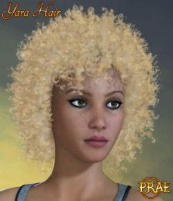 Prae-Yara Hair For La Femme Poser