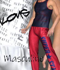 DA-Masculine for SportsSet for L'Homme