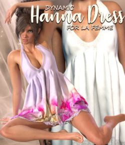 Hanna Dress - dynamic for La Femme