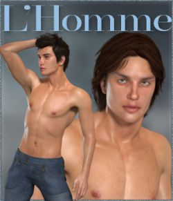 L'Homme Male Base figure for Poser Pro 11