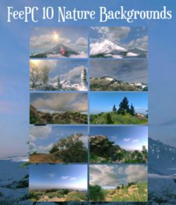 10 Scenic Landscapes Backgrounds