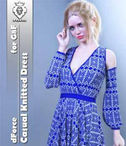 JMR dForce Casual Knitted Dress for G8F