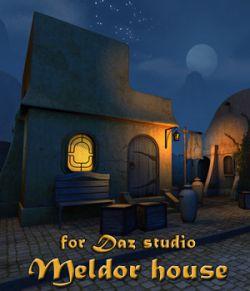 Meldor house for Daz Studio