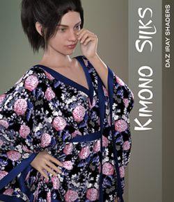 Daz Iray- Kimono Silks