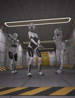 Sci-Fi Corridor Level 51