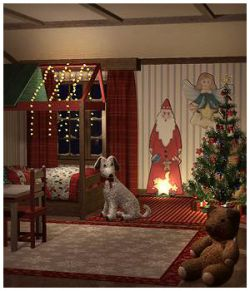 Christmas Kids Bedroom
