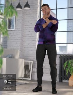 Smart and Suave Outfit for Genesis 8 Male(s)