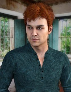 Clifford Hair for Genesis 8 Male(s)