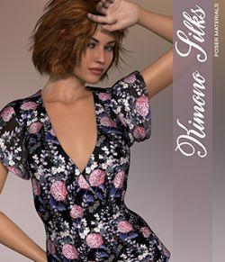Poser - Kimono Silks