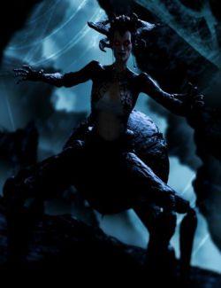 Black Widow HD For Genesis 8 Female