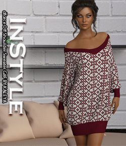 InStyle - dforce Off Shoulder Sweater G8F