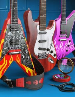 Electric Guitar Collection Bundle for Genesis 8 and Genesis 3