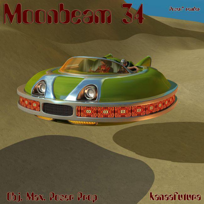 Moonbeam34 Poser prop