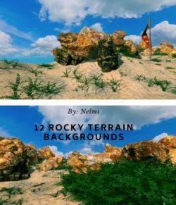 12 Rocky Landscape Backgrounds