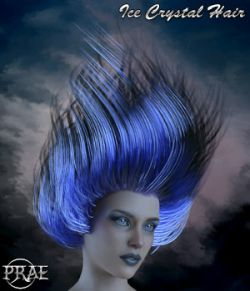 Prae-Ice Crystal Hair for G8 Daz