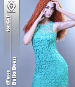 JMR dForce Bella Dress for G8F