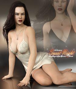 Sweet Night Lingerie Set for Genesis 8 Females