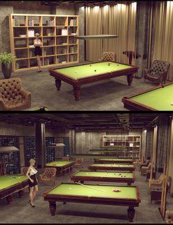 Weekend Pool Room