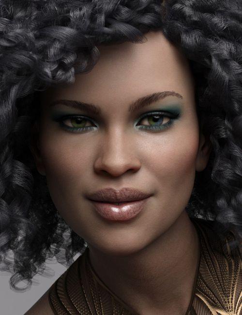 Valentina HD for Genesis 8 Female