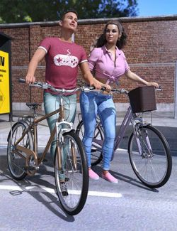 Z Town Bike and Poses
