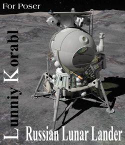 Russian LK Manned Lunar Lander