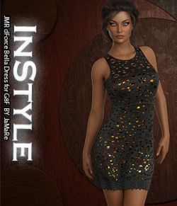 InStyle - JMR dForce Bella Dress for G8F