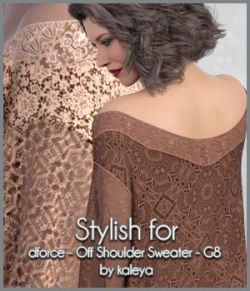 Stylish for Off Shoulder Sweater