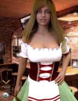 FG Oktoberfest Dress for Genesis 8 Female(s)