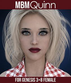 MbM Quinn for Genesis 3 and 8 Female