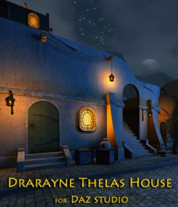Drarayne Thelas House for Daz Studio