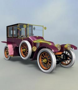 RENAULT TOWN CAR 1912 for VUE