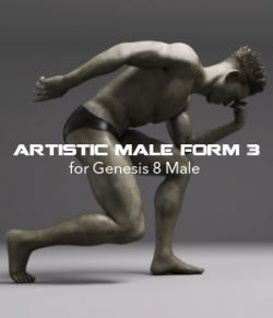 Artistic Male Form 3 for Genesis 8 Male