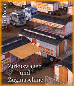 CIRCUS - NM-ZS-Zirkuswagen-Zugmaschine