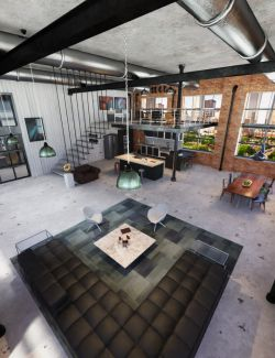 TS Industrial Apartment